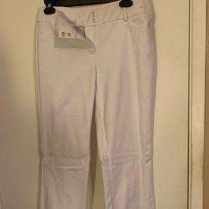New York and company white slacks